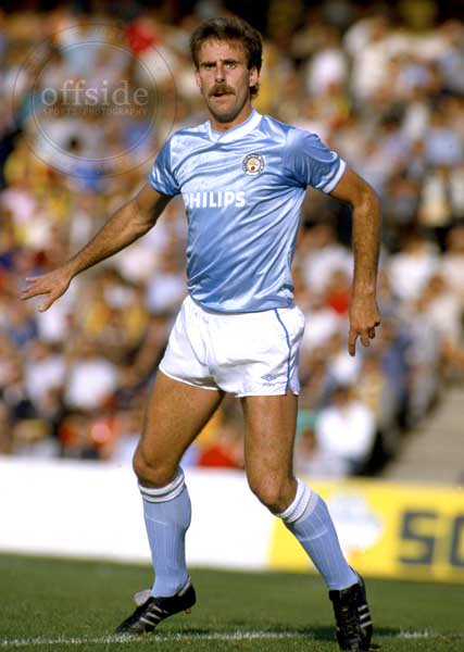Happy 60th birthday to Mick McCarthy, pictured during his days as a no-nonsense Man City centre half.