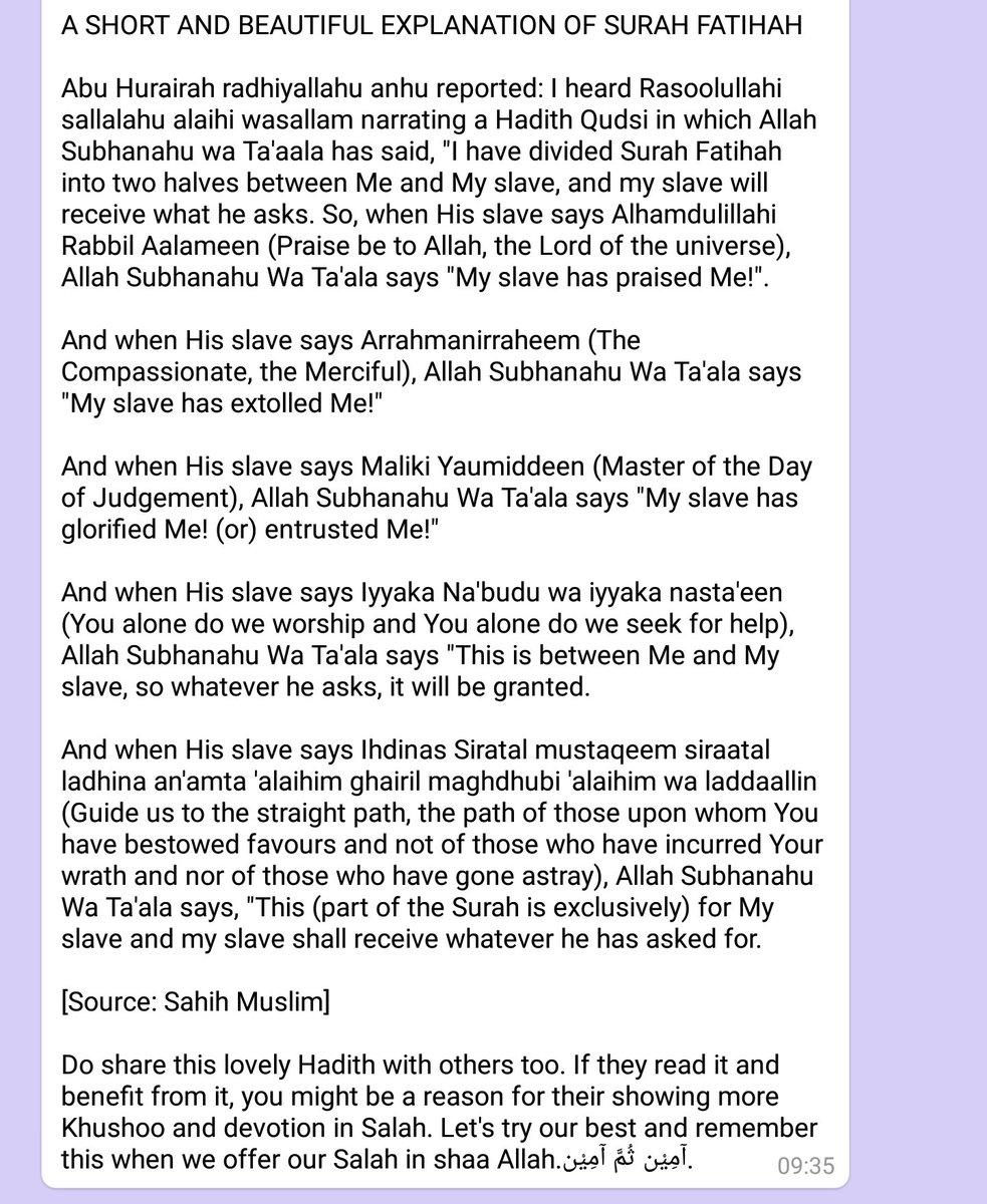 SubḥaanAllāh hashtag on Twitter