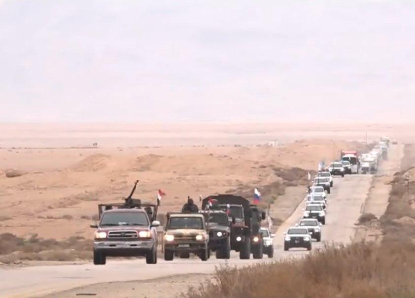 Сводки из Сирии. Российские военные в Ат-Танфе