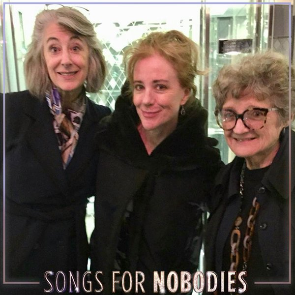 Bow down to these three divas 👑  How lucky we were to have #MaureenLipman and #JuliaMcKenzie in to see @Songs4Nobodies at the @Ambtheatre? We're entering our final weeks in the #WestEnd 😭