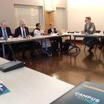 Image for the Tweet beginning: Venue du vice-recteur de l'UNU