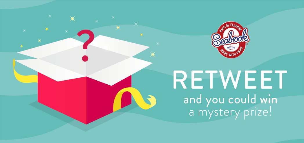 Want to win a mystery Seabrook prize? Retweet this post for your chance to win!