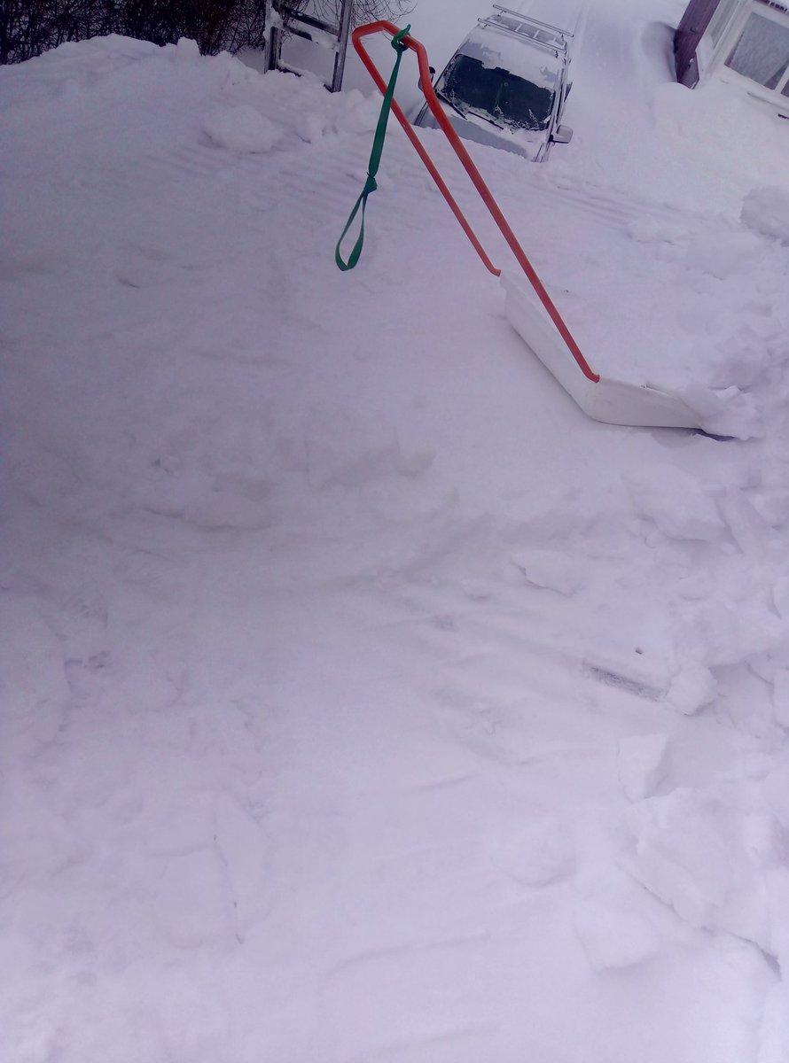 skotta snö