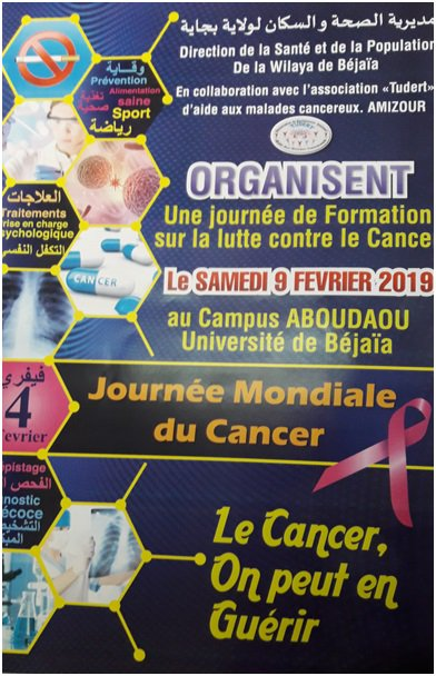 Journée formation contre le cancer
