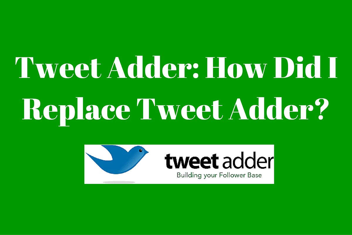 tweetadder hashtag on Twitter