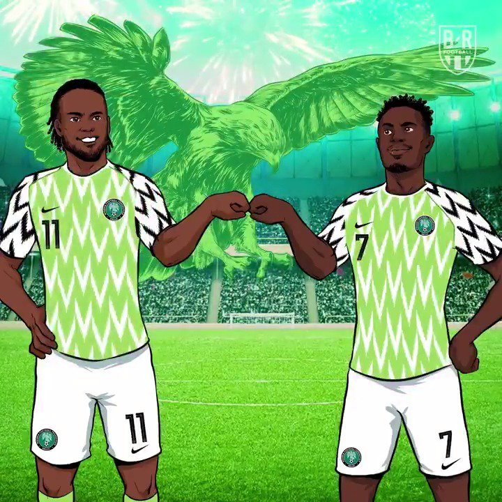 One year ago today, Nigeria dropped their World Cup kit 🔥