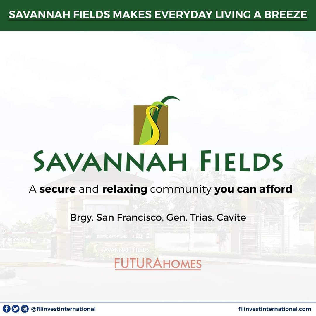 If you're looking for a wide selection of model houses to choose from that would meet your criteria for your ideal home, Savannah Fields is perfect for you!   #FilinvestorInspires #Filinvest #FilinvestInternational #OFW #Investment #RealEstate https://t.co/p3oEqFokBa