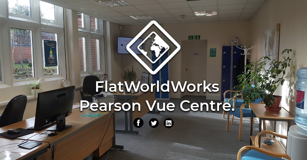We are an authorised @pearson Test Centre, delivering a wide range of IT and digital exams to help up-skill you as an individual and support digital transformation for your company. Call 01902 835490 to find out more. https://www.flatworldworks.com/pearsonvue.html   #Digital #CyberSecurity #PearsonVue