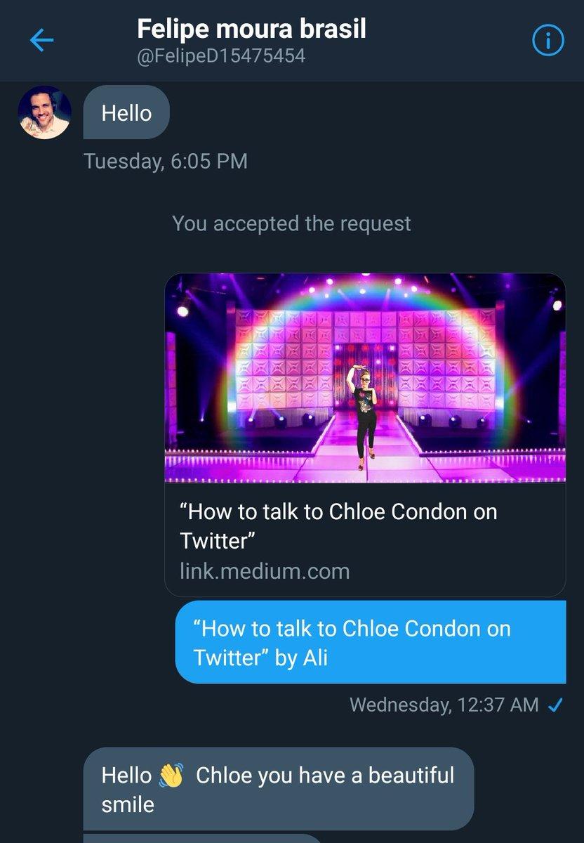 cea1bb1aadcf Chloe Condon 🎀 on Twitter