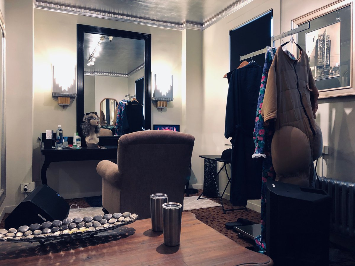 So here's what @madea's dressing room looks like!!! #MadeasFarewellTour