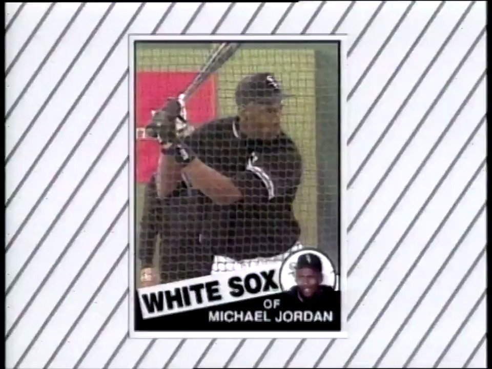 25 years ago today, Michael Jordan signed a minor league contract with the @whitesox.