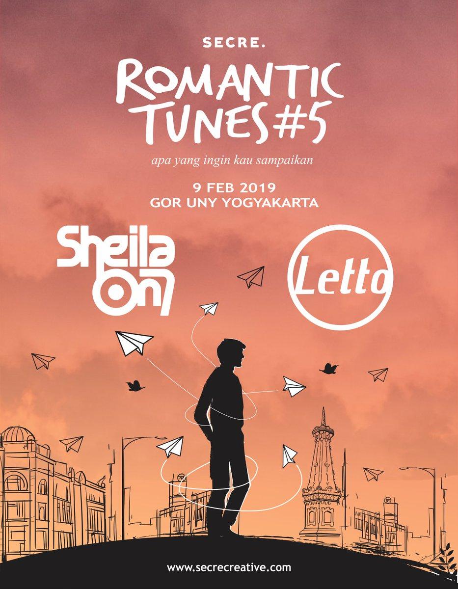 Lusa lho ini.. #romantictunes5 #letto #lettoband #sheilaon7 https://t.co/GHk7nDyckJ