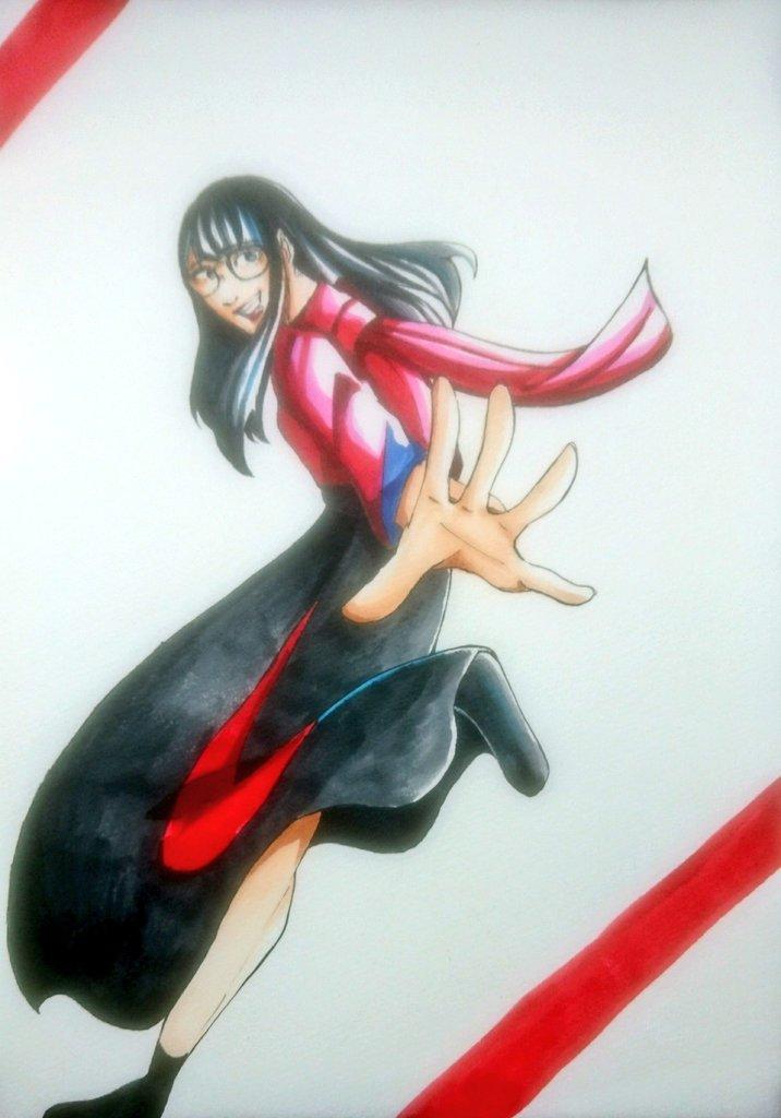 できた!!!!!! 大好きなゲリラBiSH衣装!!!!!! #ハシヤスメ・アツコ #BiSHイラスト