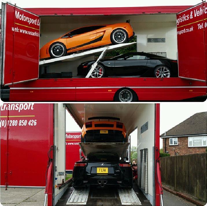 RussellsTransport .@RussellsTranspo Specialist #CoveredCarTransport - #Prestige #Luxury #Supercar #SupercarTransport #F1 - Careful handling Worldwide +44(0)1280 850 426 Brackley, Northants NN13 5HQ