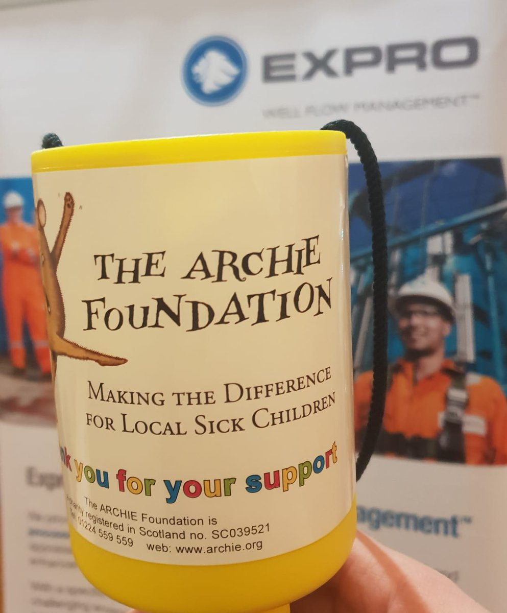 Our YP Committee collected spare change at their free to attend events during 2018 for @archiegrampian. Money raised was matched by @ExproGroup, YP committee sponsors, bringing the total to £252.36. Thanks to all who donated to this fantastic charity. https://t.co/Mi30yxPj8v