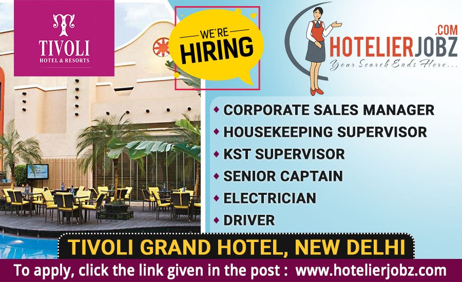 Hotelierjobz On Twitter Ever Dreamt Of Working In New Delhi Here S An Awesome Opportunity For You Guys Tivoli Grand Hotel In Newdelhi India Is Hiring Now Full Details Here Https T Co Zhhjcidsyn Hotelierjobz Https T Co Yktz77mkla