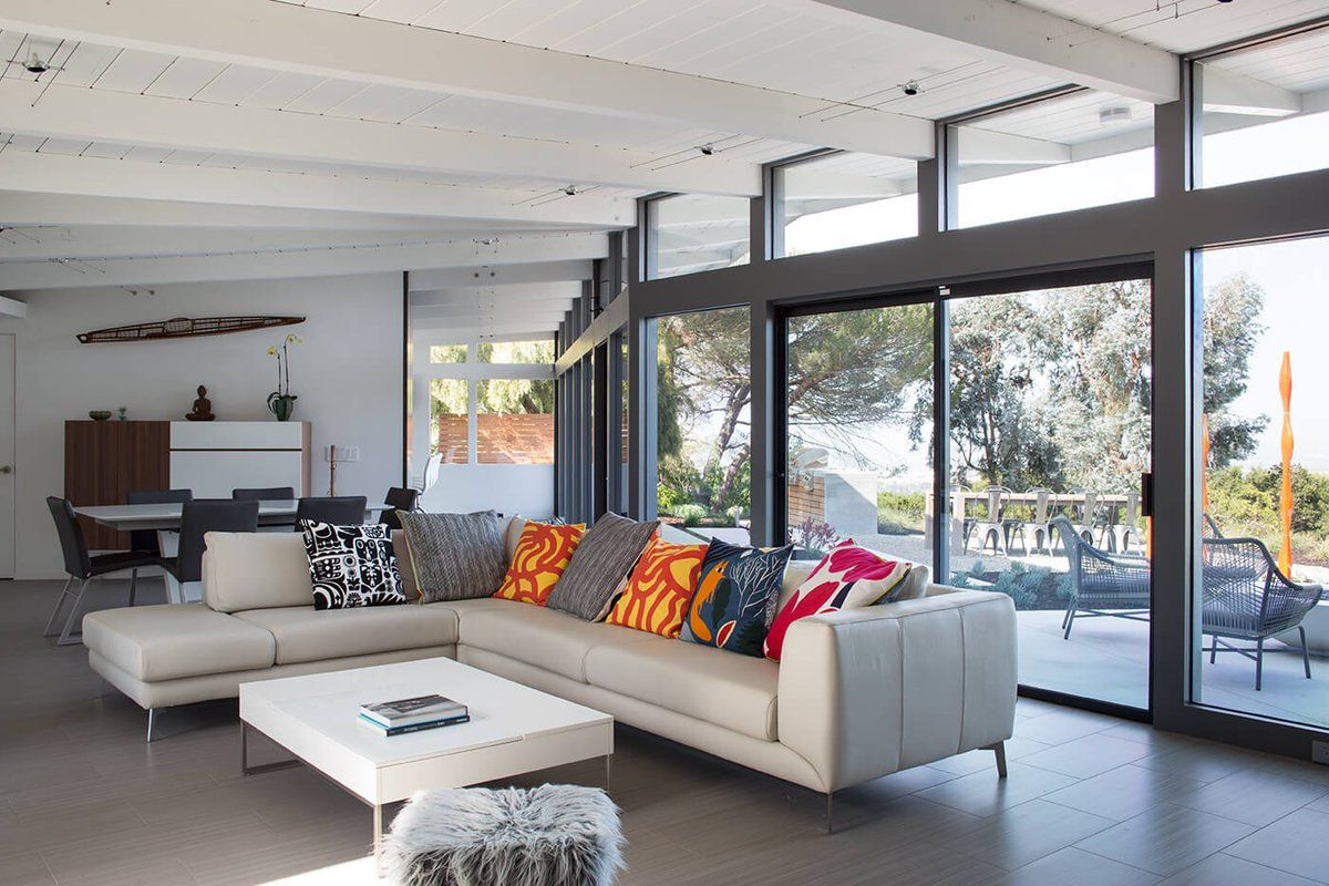 Home Adore On Twitter Mid Century Modern House By Klopf