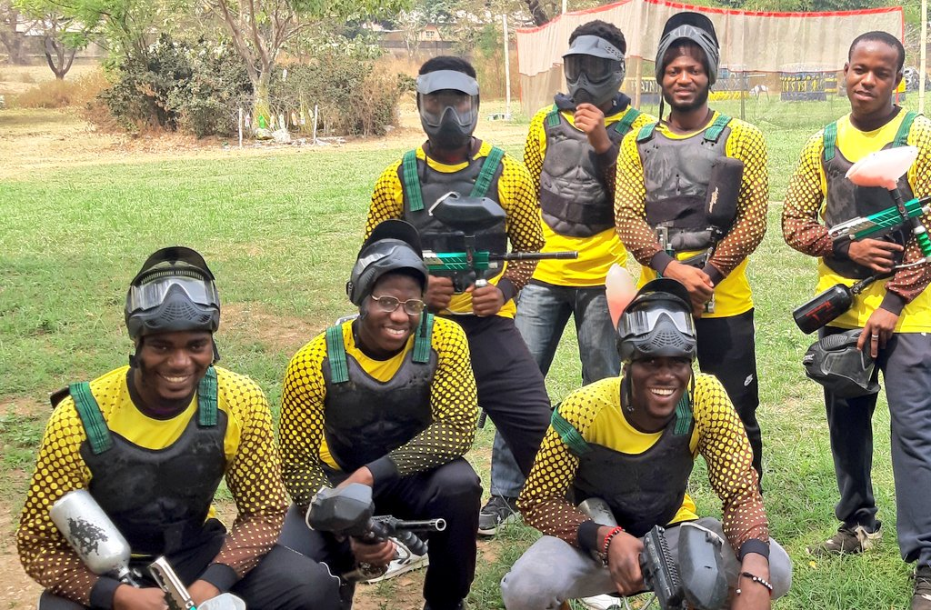 Guaranteed to put a smile on your face #WeAreRapid #paintball #Abuja #Fun #action #battlegames #runhideshoot #adventure #extremesport #Weekday #squad #noretreatnosurrender #adrenalin #team #AbujaTwitterCommunity #ThursdayMotivation #ThursdayMotivation
