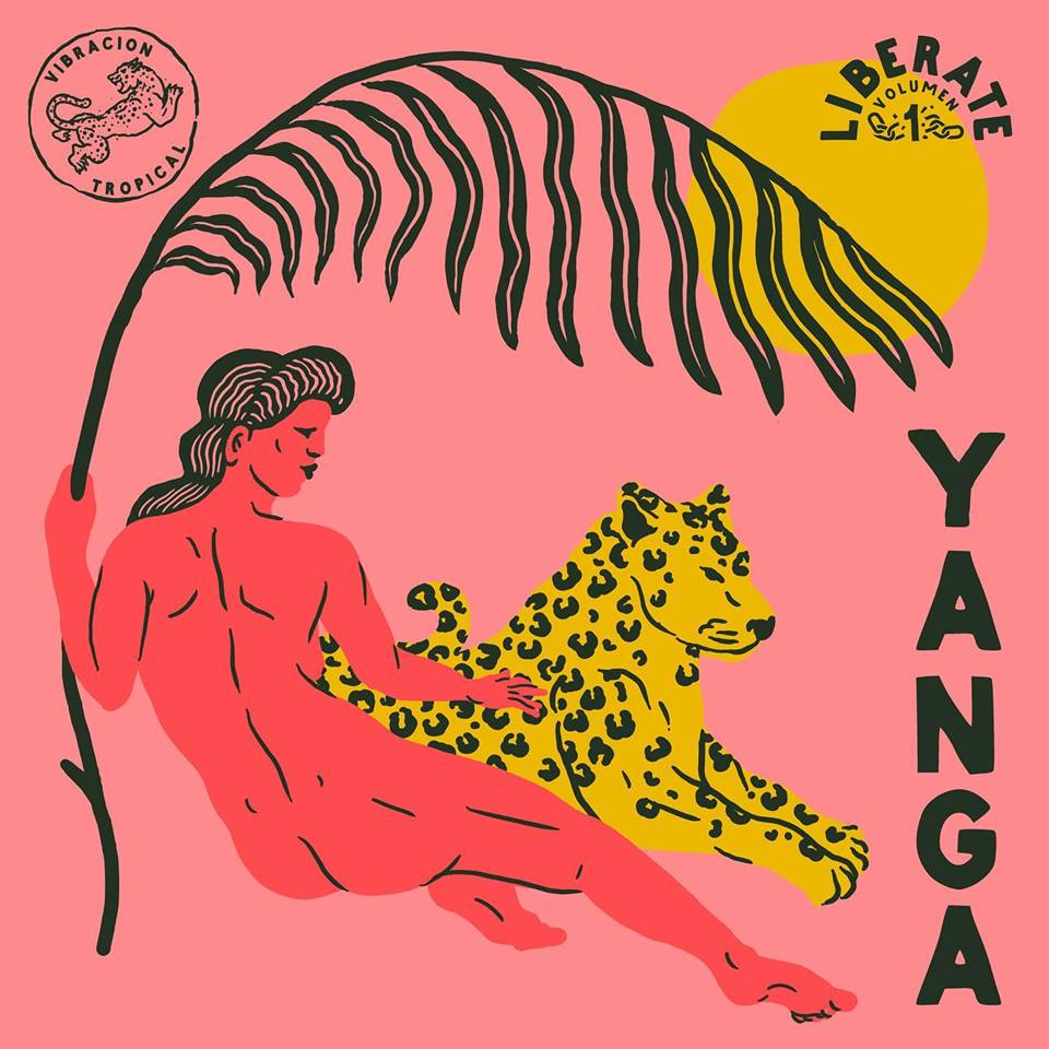 """Alan Berry Rhys (@AlanBerryRhys)  created two graphically stunning covers for the release of YANGA's new 7-inch singles, """"Libérate, Volumen 1 & 2.""""  http://theispot.com/artist/abrhys @debutart #ThursdayMotivation #ThursdayThought #music #albumcover #coverart"""