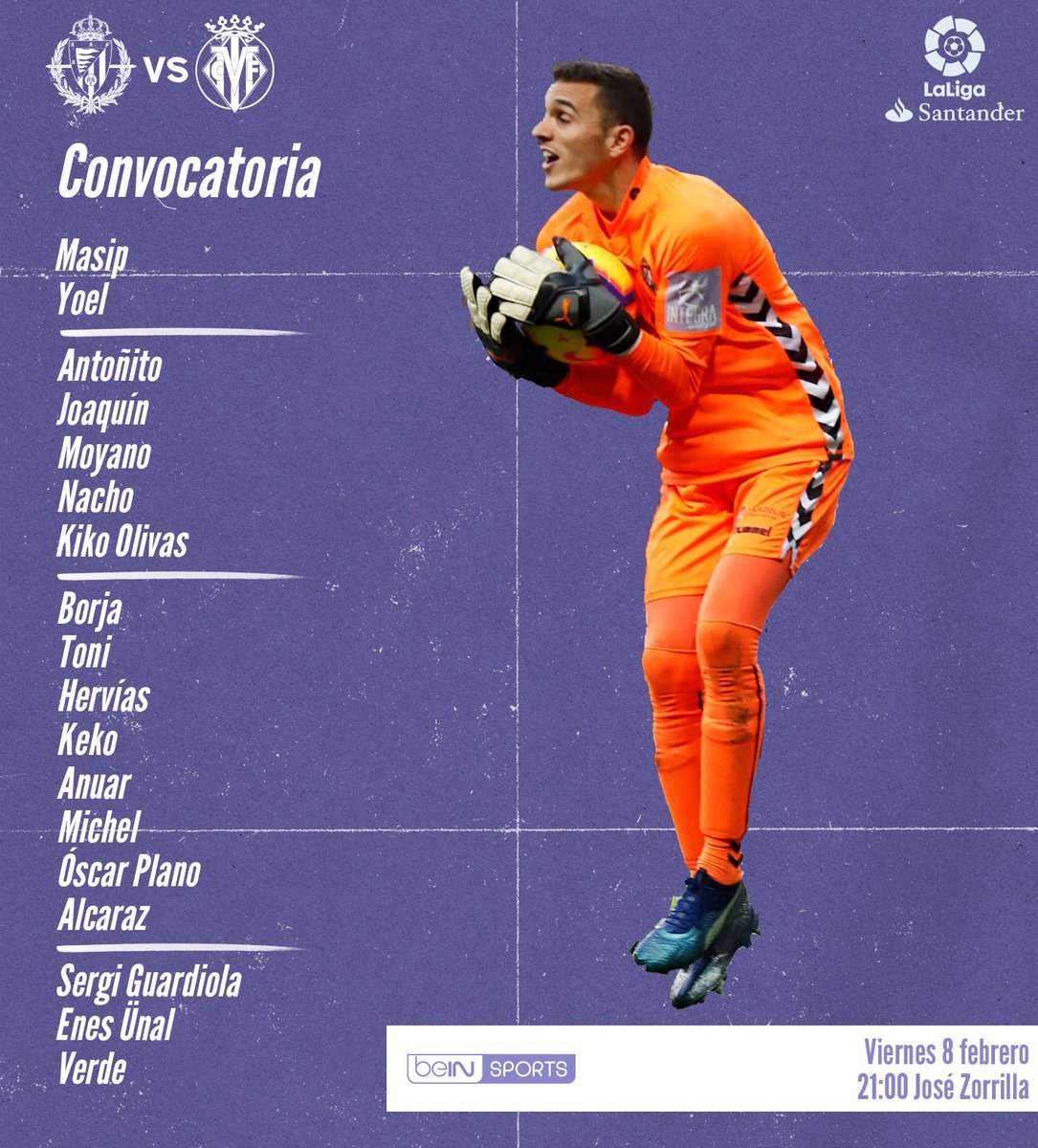 DyzedPWWkAA7PjN Sergio convoca a 18 jugadores para recibir al Villarreal - Comunio-Biwenger