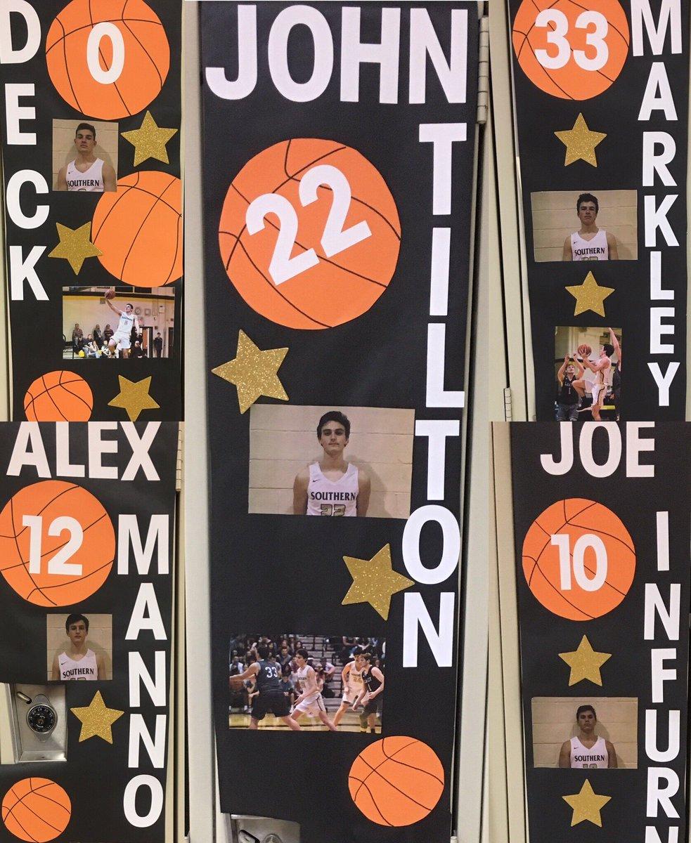 Basketball Locker Decorations