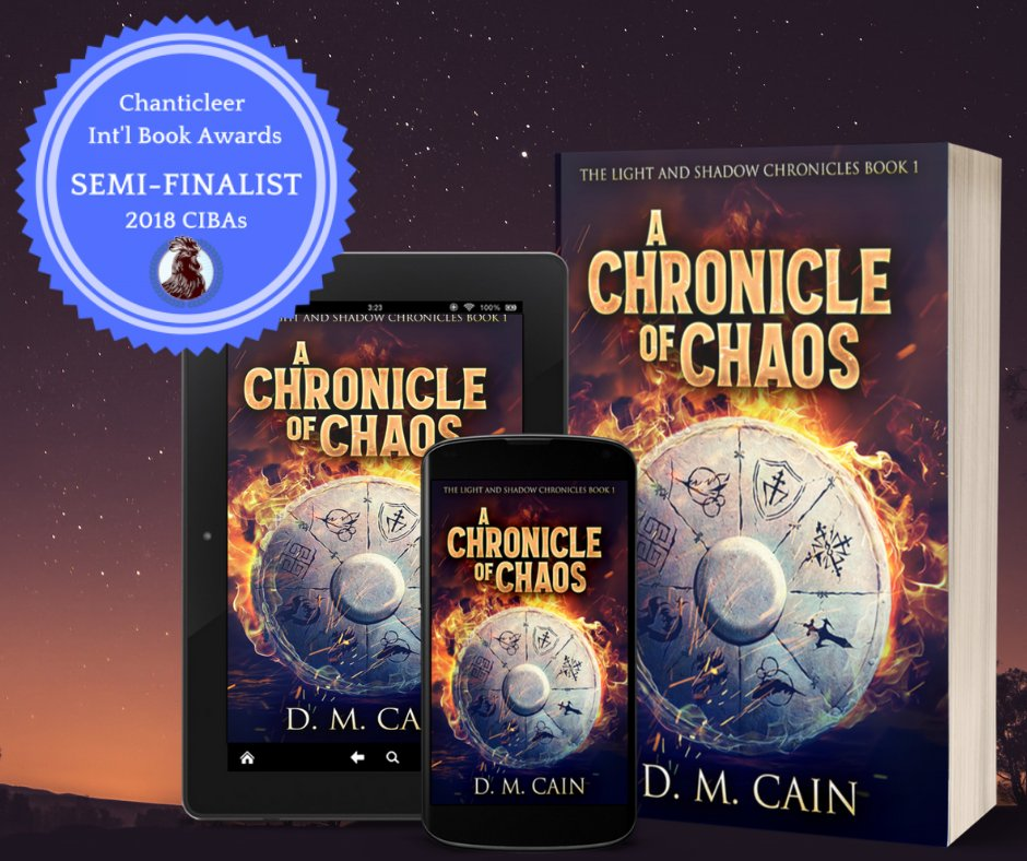 I am absolutely delighted to announce that A Chronicle of Chaos is an official SEMI-FINALIST for the OZMA Book Awards for Fantasy Fiction! Fingers crossed for the finals! 🤞 #CAC19, #SeriousAuthors, #OZMABookAwards, #CIBAs @ChantiReviews