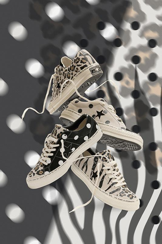 86027449fa9c brain deads patchwork animal print converse one star drops today