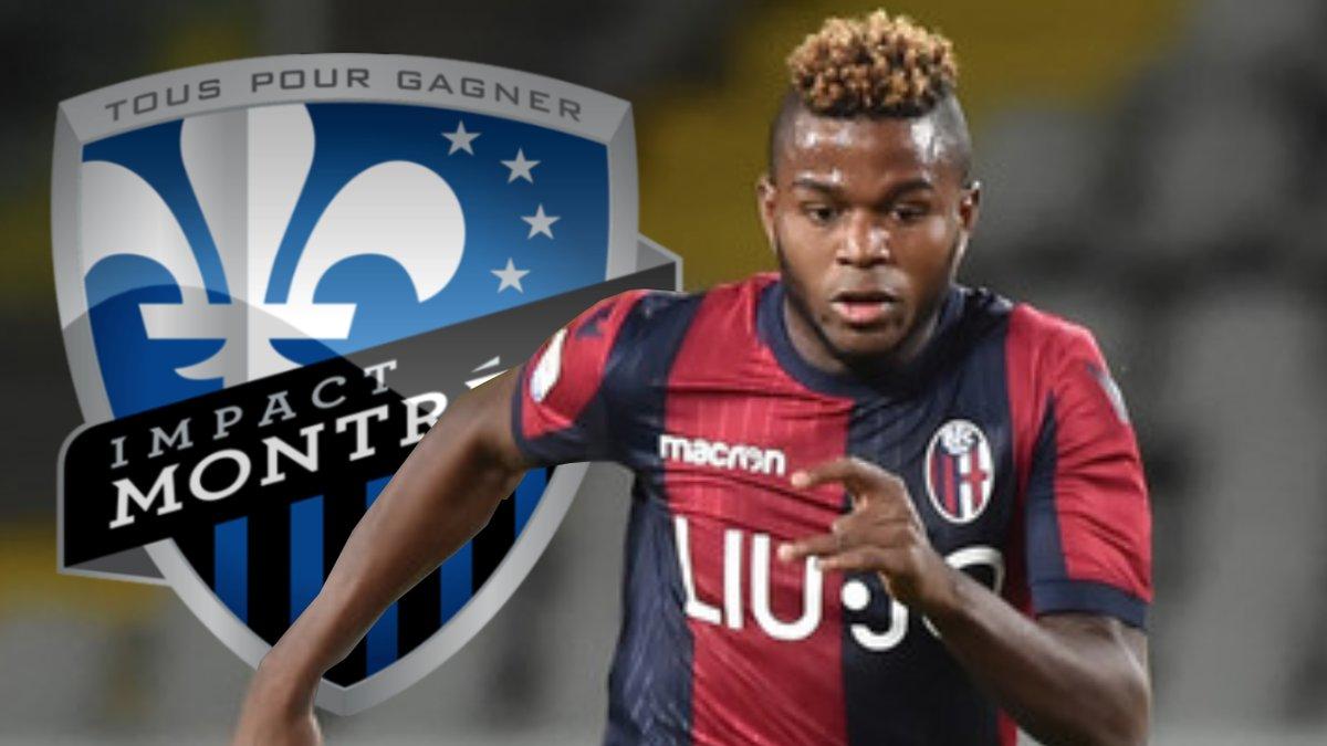 Selon @GoalItalia, Orji Okwonkwo devrait rejoindre Montréal dans les prochaines heures.  Surprise, on parle dans l'article bel et bien d'une vente du jeune attaquant de 21 ans. Okwonkwo aurait finalement donner son accord pour rejoindre la #MLS. #IMFC   https://www.goal.com/it/notizie/calciomercato-bologna-okwonkwo-va-in-canada-accordo-col/1vyoi1d92scz9161t1uwfucc7m…
