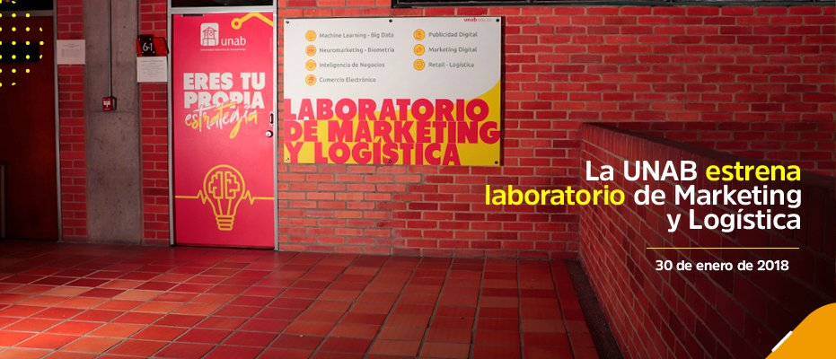 La UNAB estrena laboratorio de Marketing y Logística