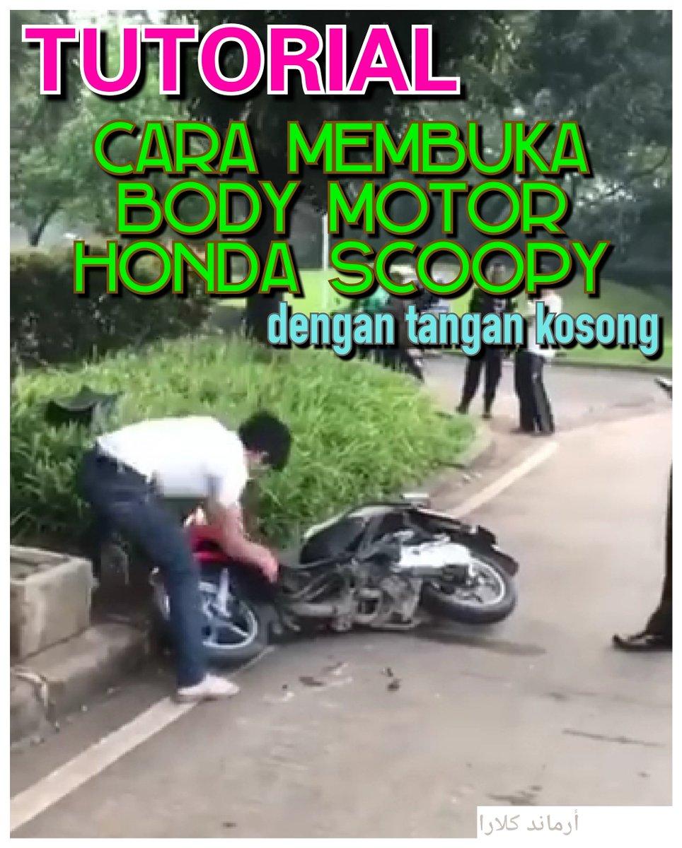 Tuturial membuka motor dengan tangan kosong