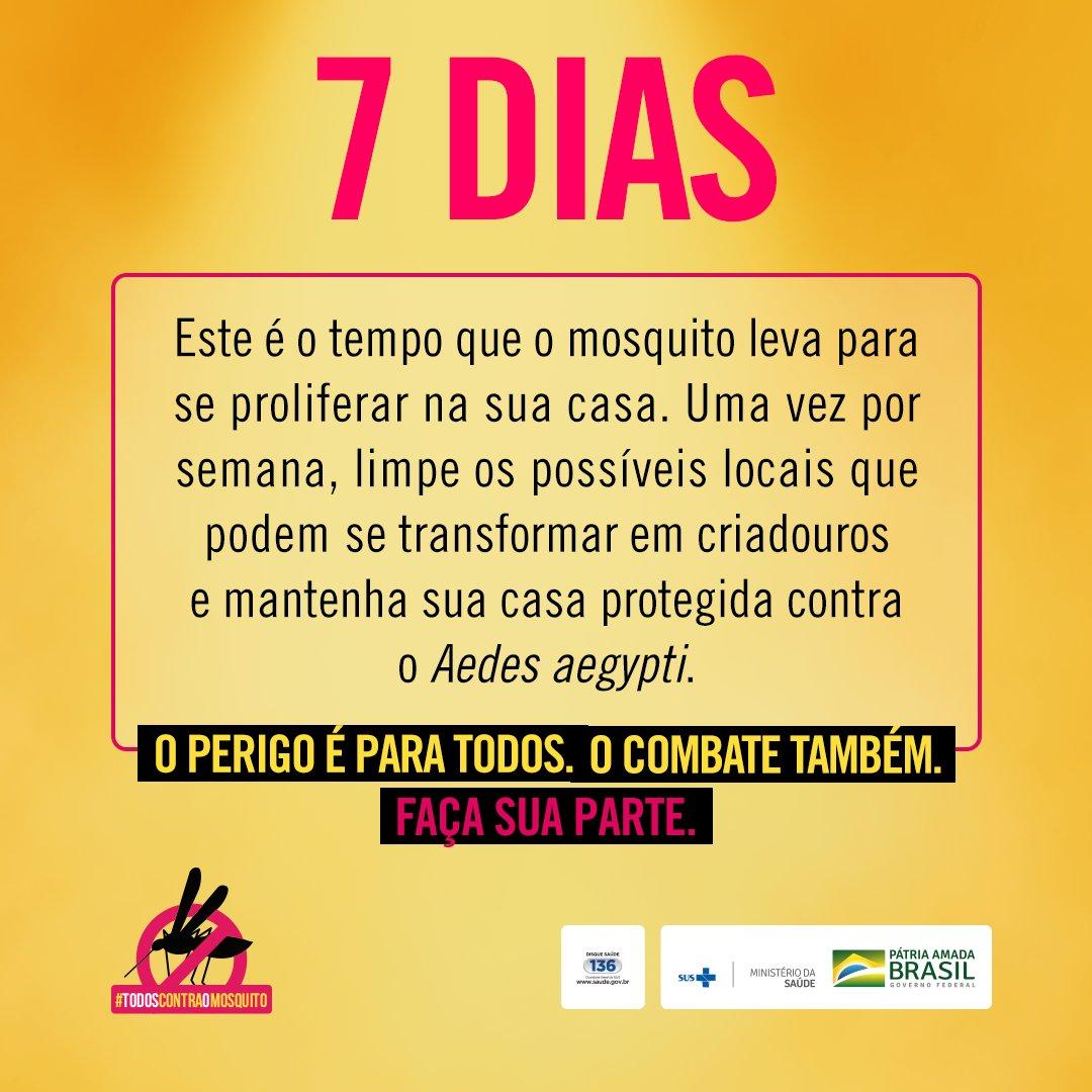 #MeuDesejoÉ todo mundo unido no combate ao mosquito Aedes aegypti. Saiba mais em https://t.co/Yl1wRMpyrI #TodosContraOMosquito  #Dengue #Zika  #Chikungunya