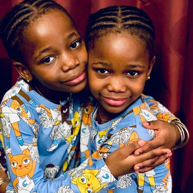 And Love is 💙.....,........ The Unbreakable Bond! #estere #stella #children #family. #love