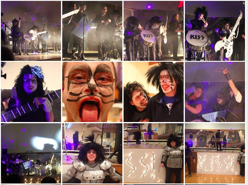 Throwback Thursday to our KISS Tribute Concert! Rock ON! Thanks to @NSHAcentral for supporting this Health and Wellness program.