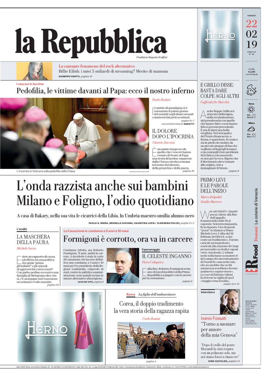 La Repubblica On Twitter Londa Razzista Anche Sui Bambini Milano