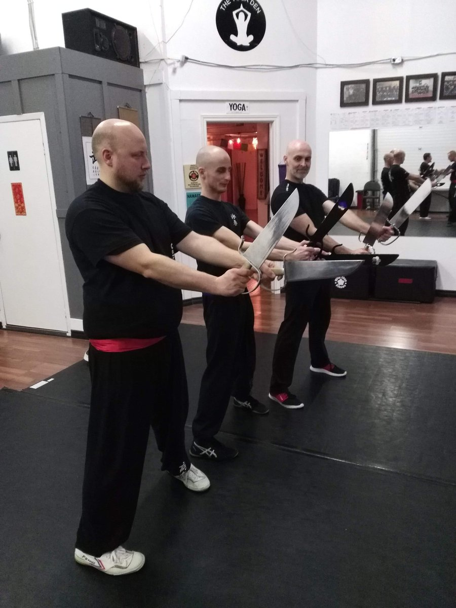 Three bald men with knives approach you. Roll for initiative.<br>http://pic.twitter.com/W1waElFzgD
