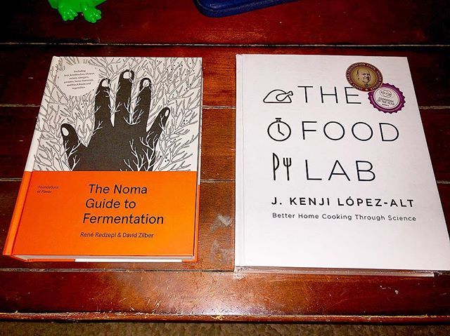 A little light reading. • • • • #fermentation #thefoodlab #food #foodie #foodporn #yum #yummy #yummyinmytummy  #instagood #photooftheday #picoftheday #instadaily #igers #follow #nofilter #happy #bestoftheday #tweegram #instagramers #igdaily #instagra… https://ift.tt/2Iw4cXK
