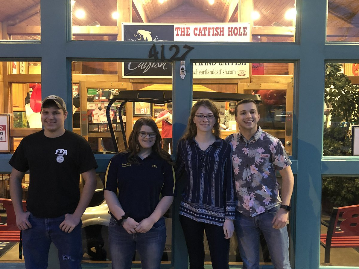 Fun night in Fayetteville with Catfish Hole and Karaoke with local chapters! #FFAWeek2019