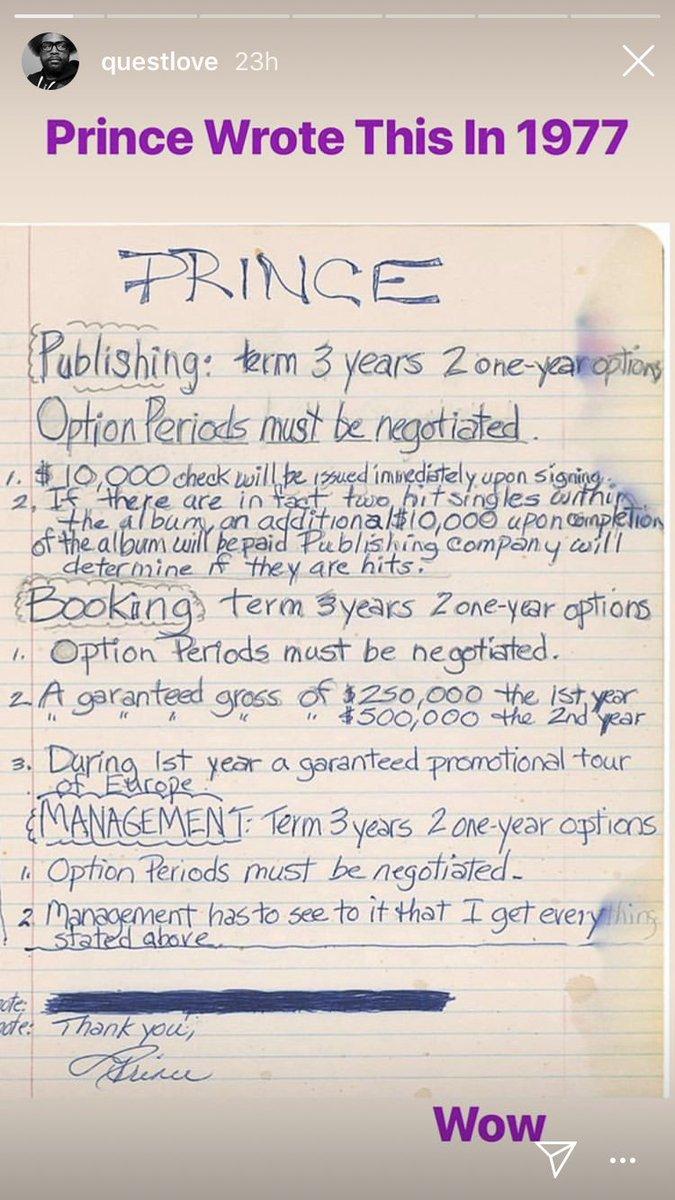 Prince at 19 via @questlove Wow