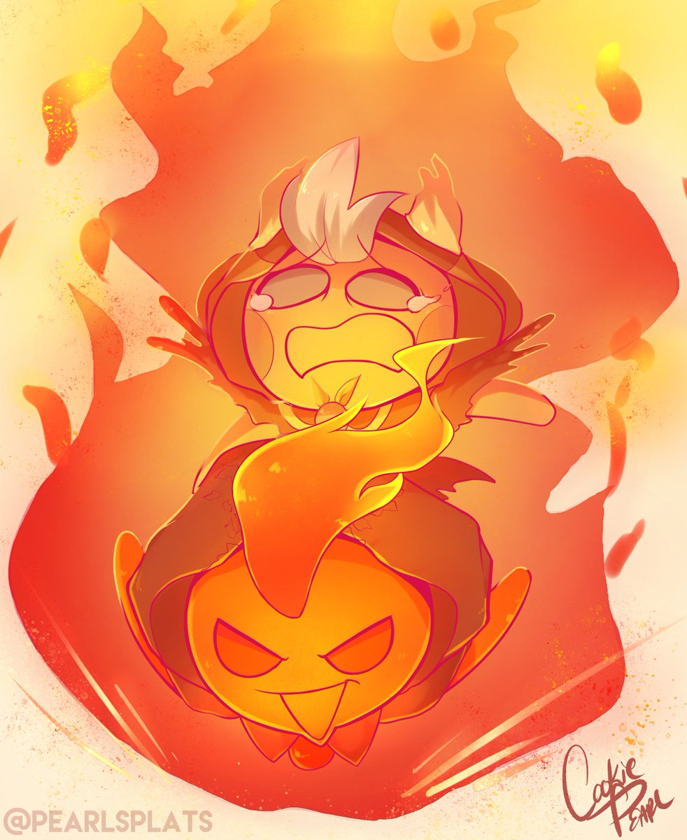 Diving lessons with Firespirit (This counts for the Firespirit impersonating Pancake btw) #cookierun<br>http://pic.twitter.com/XSHNUXiPUi