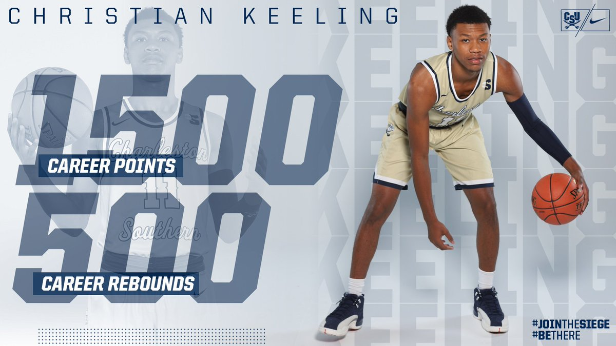 .@BasktballPower went where only two other @CSU_MBBall players have gone before. He became just the 3️⃣rd player in program history with 1,500 career points and 500 career rebounds on Thursday night #JoinTheSiege #BeThere