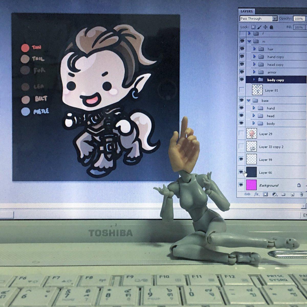 yuikami I fricken love my new #centaur 🐴 #Roll20 #Roll20app #art