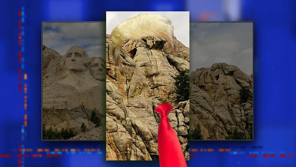 Turns out President Trump is already on Mount Rushmore. #LSSC <br>http://pic.twitter.com/n11OsxZA4V