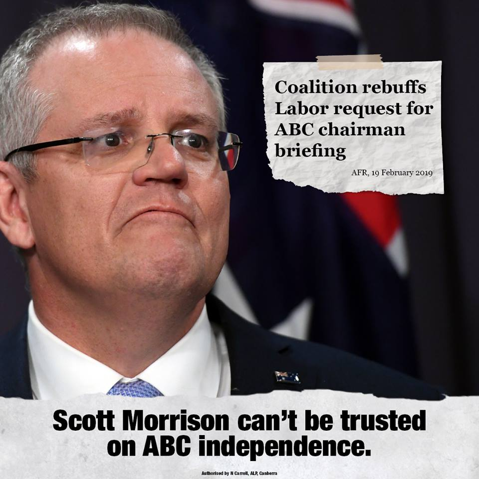 The only way to save the ABC is to change the government. #auspol <br>http://pic.twitter.com/cnzs2ihykj