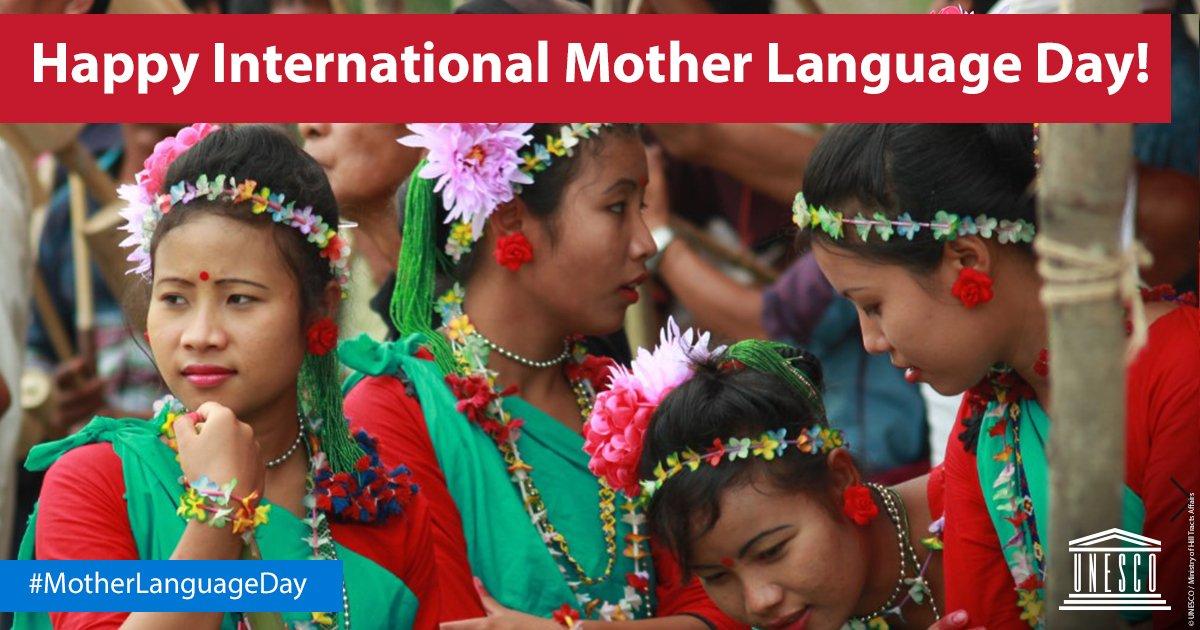 Happy #MotherLanguageDay! 😃 https://t.co/ki3DqPASk0 #IndigenousLanguages