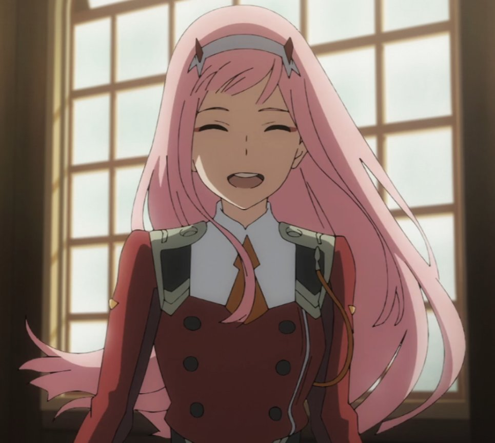 After the battle with VIRM, Zero Two was reincarnated into a different dimension as Chika. Both are insanely popular and have pink hair. In this essay I will <br>http://pic.twitter.com/HlEv2BL8oi