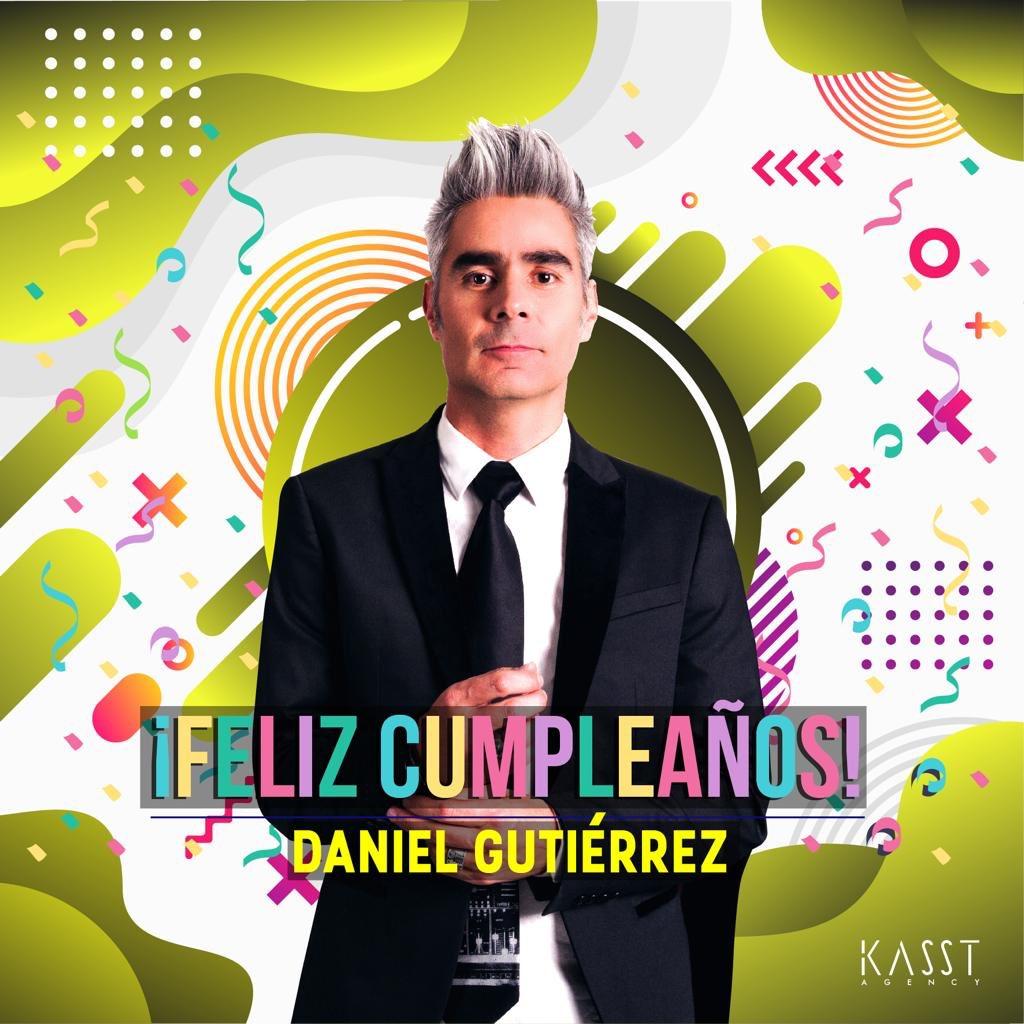 ¡Feliz Cumpleaños @danielgusana! Los mejores deseos y que sean muchos años más de música. 🎉🎶👏🏻