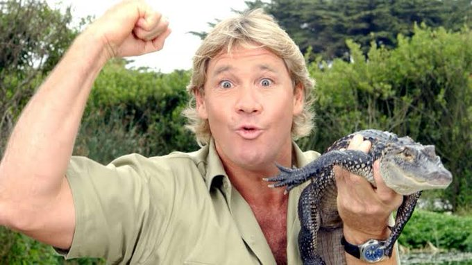 Happy birthday to the legend  Steve Irwin You\ll never be forgotten