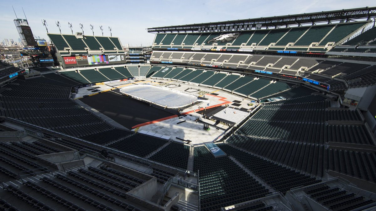 Headed to the #StadiumSeries in Philly this weekend? You may want to pack your rain gear. Here's why: https://t.co/N2X1CMHBB2 #wpxi #Penson11 #LetsGoPens  #NHLonNBC