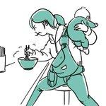 子育て中のママがラーメンを食べる図これは分かりみが深い