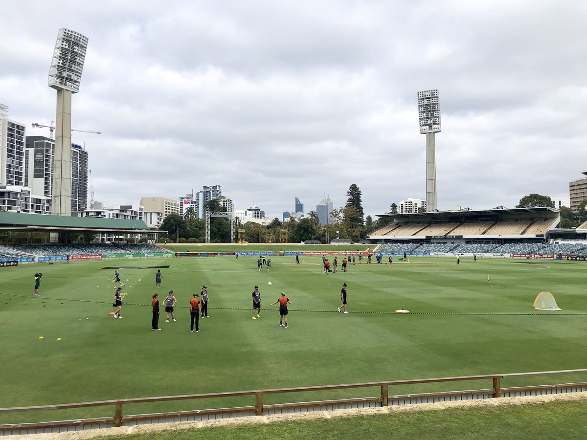 Remember this place? International cricket returns to the WACA for the Rose Bowl Series #AUSvNZ. ODI#1 on the wireless nationwide from 10am WST.  @abcgrandstand